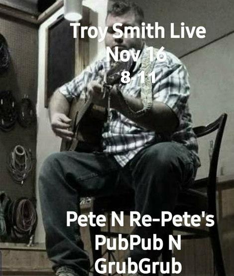 Troy Smith Live 11-16-19