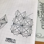 Luminesque - a new tangle pattern