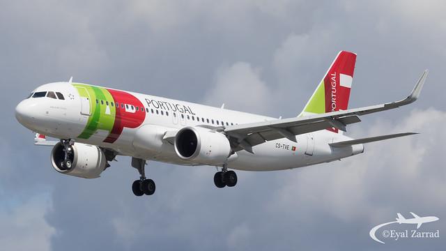 LHR - TAP Airbus A320neo CS-TVE