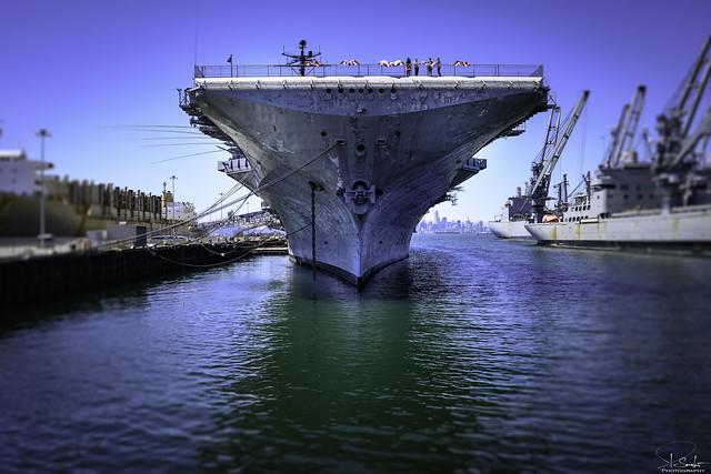 USS Hornet - Sea, Air and Space Museum - Alameda - California - USA
