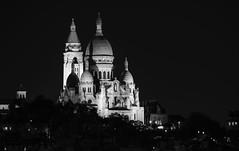 Sacre Coeur by night