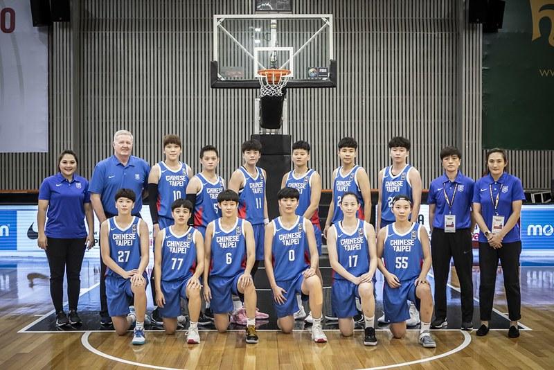 中華女籃。(圖/FIBA提供)