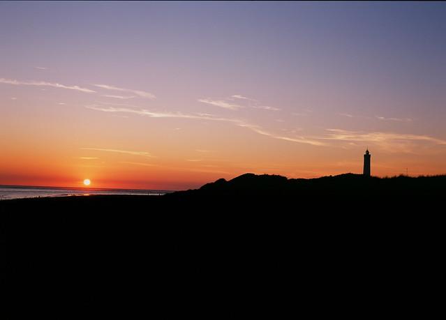 Blåvand Lighthouse Sunset