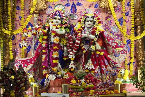 ISKCON Vallabh Vidyanagar Deity Darshan 13 Nov 2019