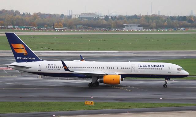 Icelandair, TF-ISK, MSN 24606, Boenig 757-223, 09.11.2019,  DUS-EDDL, Düsseldorf (Named: Eldfell)