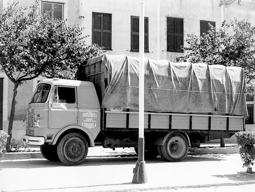 camió Nazar A 5'5 Tm Transports Bagur Ciutadella