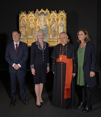 Inauguration of Crivelli's Gold Exhibit in the Vatican Museums