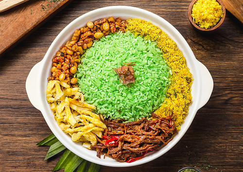 Mixed Pandan Rice