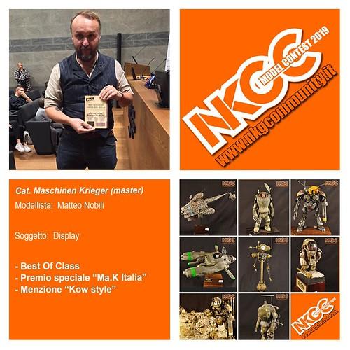 NKGC Lucca Model Contest 2019