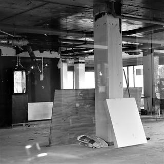 Rebuilding site in Groningen