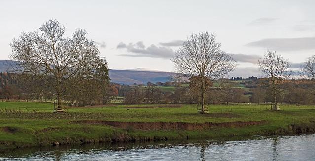 River Eden and Cross Fell.