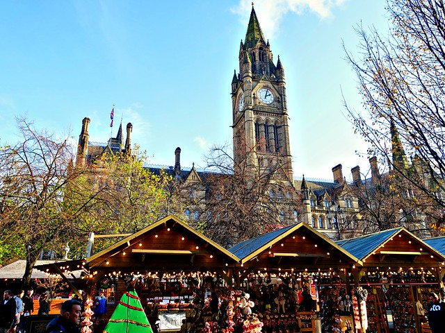 Manchester Christmas Markets and Town Hall 2019