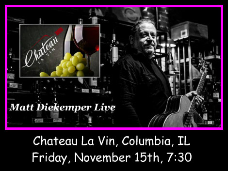Matt Diekemper Live 11-15-19