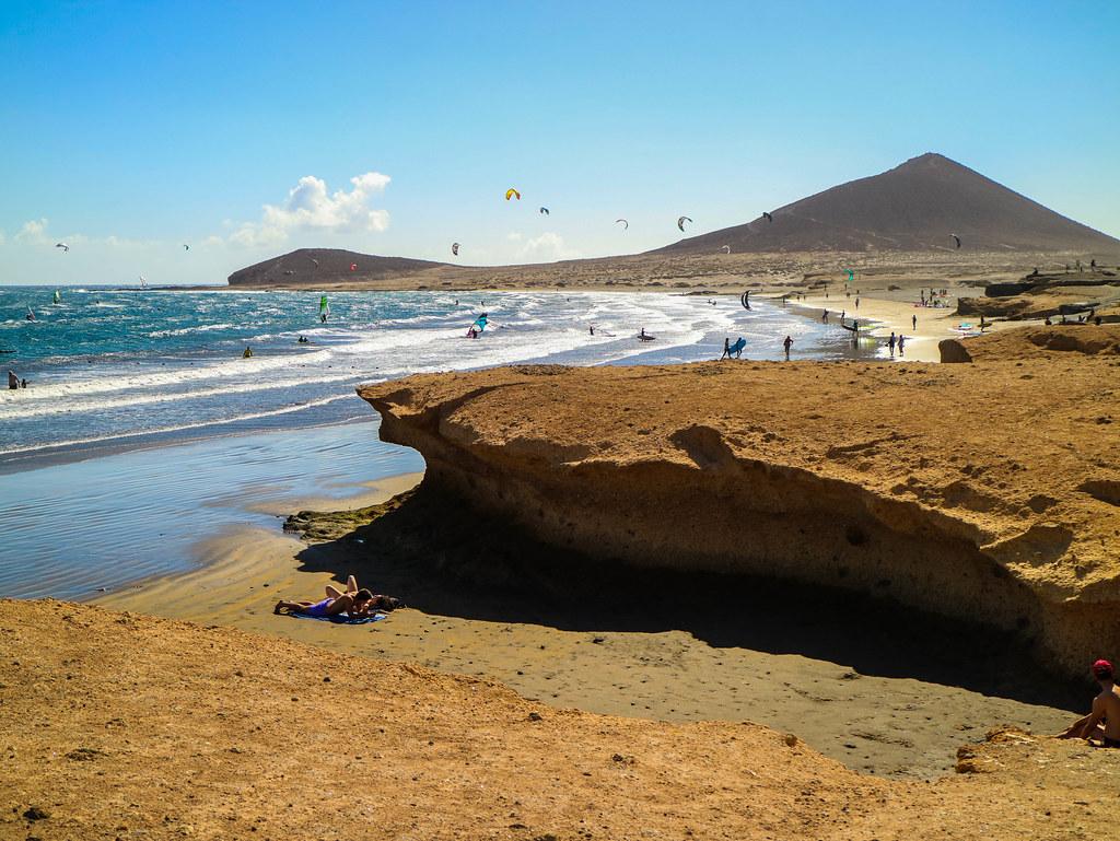 Playa Leocadio Machado en El Medano