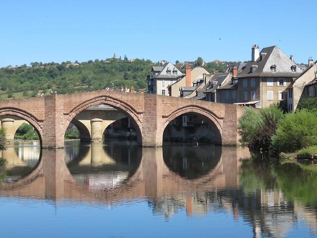 Espalion, Aveyron, France.