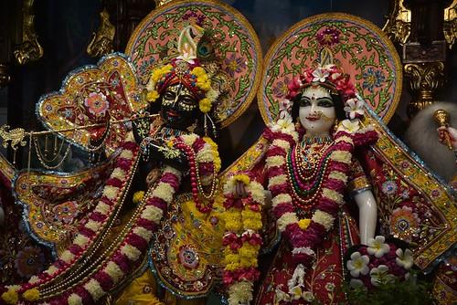 ISKCON Ujjain Deity Darshan 14 Nov 2019