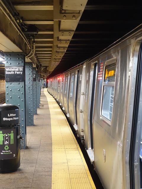 201910139 New York City subway station 'Whitehall Street–South Ferry'
