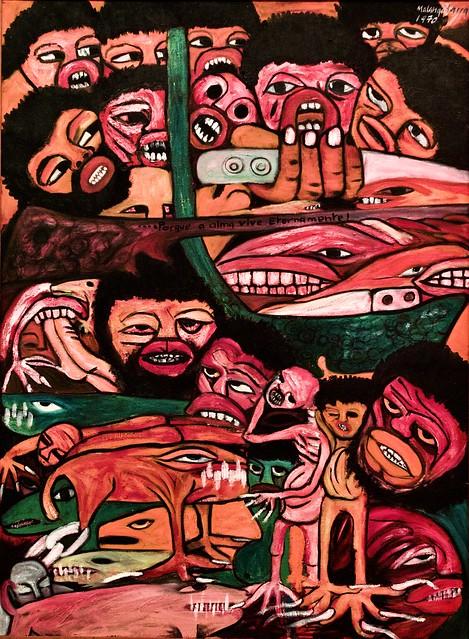 Because the soul lives forever (1970) - Malangatana (1936-2011)