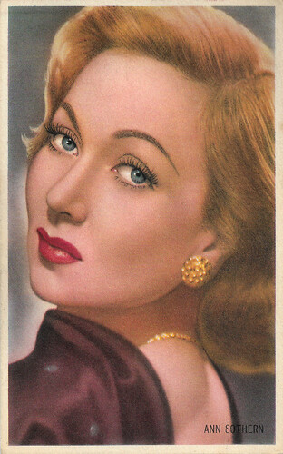 Ann Sothern in Shadow on the Wall (1950)