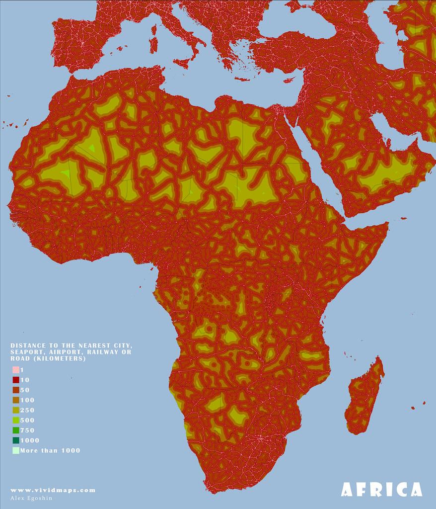 Remoteness: Africa