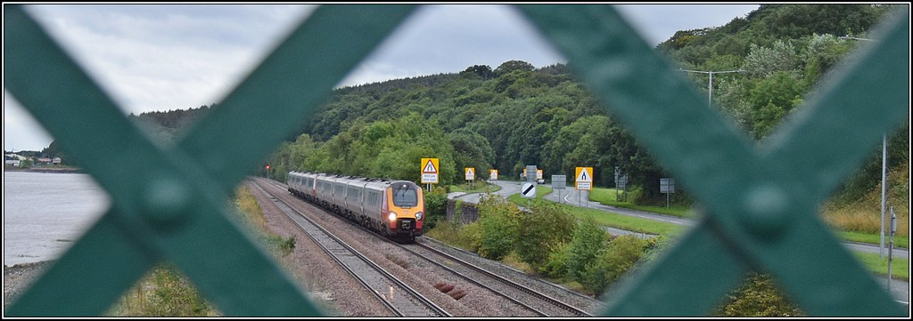 Is the treasure either side of the train? by Colin Partington