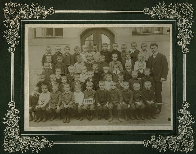 Archiv U417 Jungenklasse, 1909