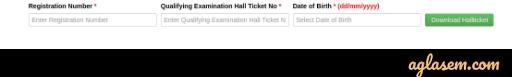 TS ECET 2020 Hall Ticket Login