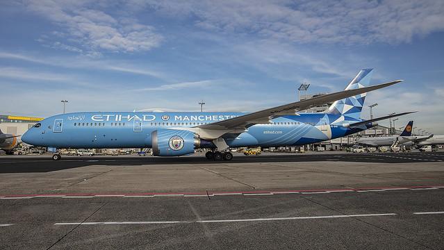 A6-BND, Boeing 787-9 Etihad Airways @ Frankfurt FRA EDDF