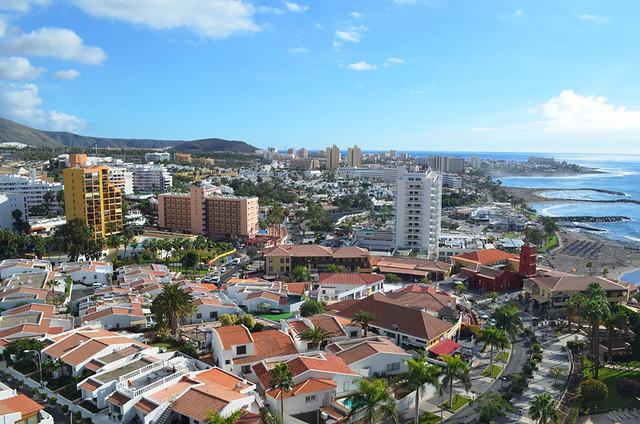 Costa Adeje and Las Americas