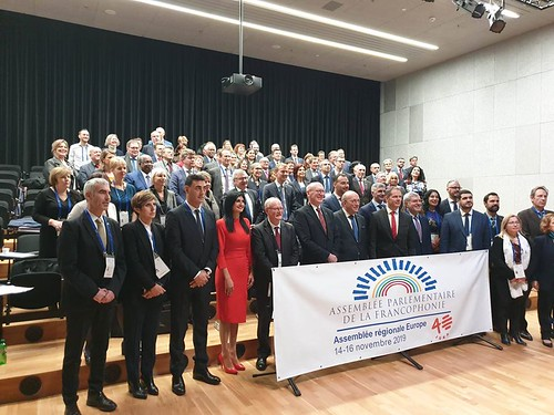 14.11.2019 Deputata Maria Ciobanu participă la cea de-a XXXII-a Sesiune a Adunării Parlamentare a Francofoniei (APF), Regionala Europa Delemont, Confederația Elvețiană