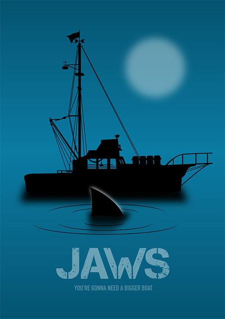 Jaws - Alternative Movie Poster