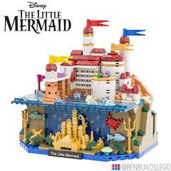 Micro Lego - The Little Mermaid MOC