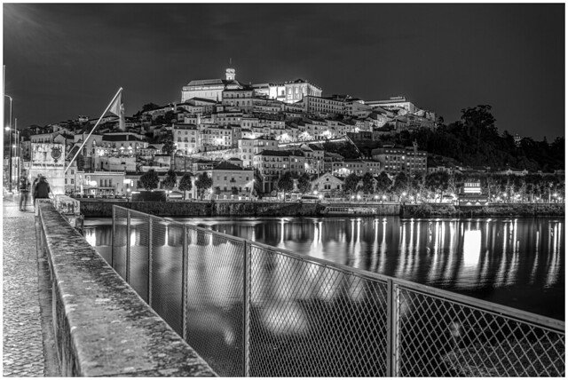 Back to the city that saw me grow! - Coimbra - Portugal - NZ6_2284 b&w