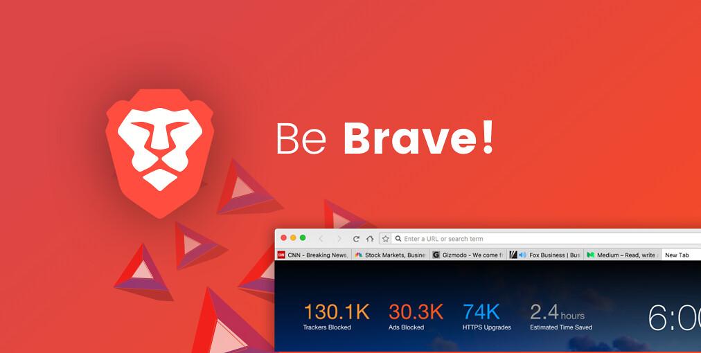 以隱私為設計核心的瀏覽器Brave 1.0版終於推出