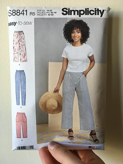Simplicity 8841 Pants | by patternandbranch