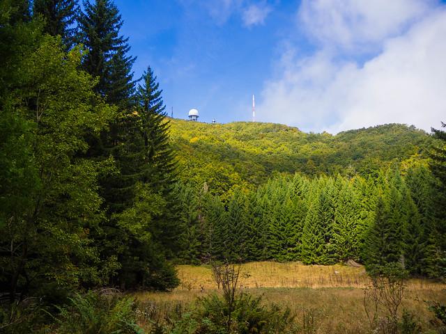 Wandern  Istrien-  Naturpark Ucka u Aufstieg  Vojack 3