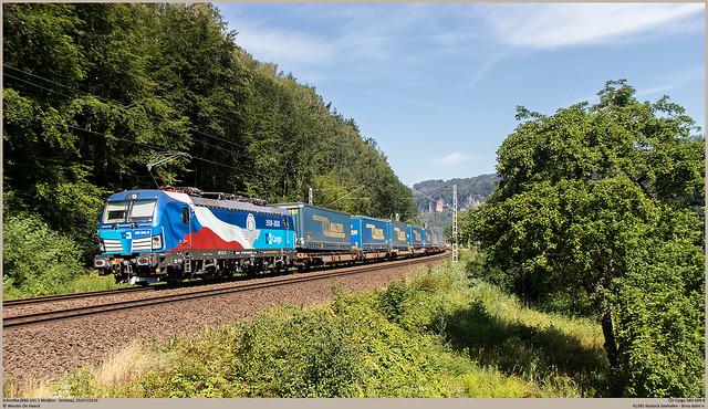 ČD Cargo 383 009-8 @ Schmilka