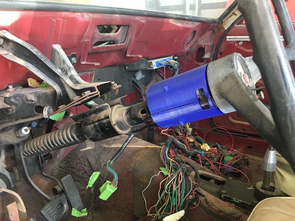 3D printed 69 Datsun 510 Steering Column cover