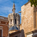 The Bell Tower ( El Micalet) Rear of Valencia Cathedral  (Fujifilm X100F & 50mm Tele Converter Lens)  (1 of 1)