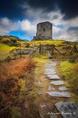Dolbadarn Castle Llanberis Wales