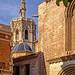 Rear of Valencia Cathedral (Classic Chrome) (Fujifilm X100F & 50mm Tele Converter Lens)