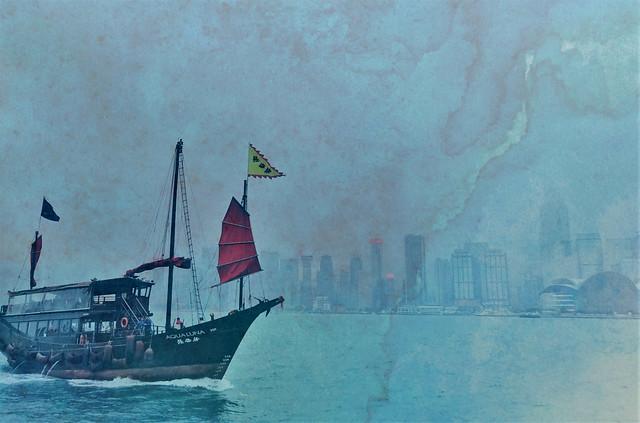 Hong Kong with Texture
