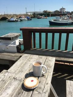 Tea by the sea, Folkestone