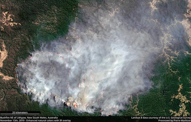 2019 Australian bushfires in QLD and NSW