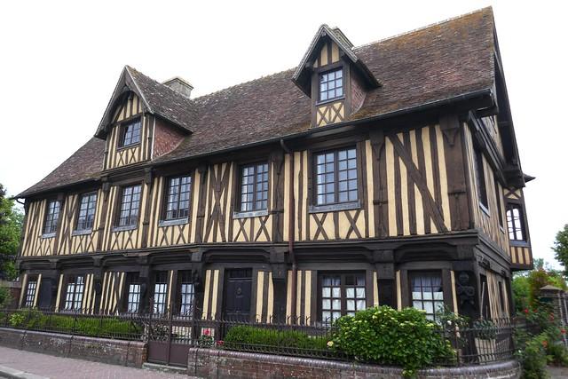 Manoir (XVe siècle), Beuvron en Auge, Pays d'Auge, Calvados, Normandie, France.