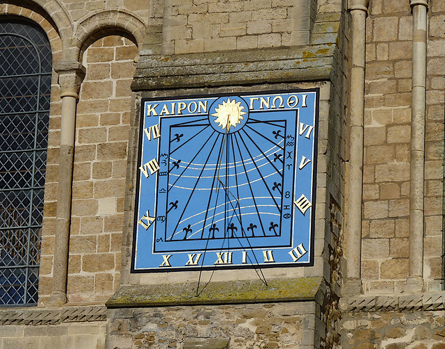 Sundial, Ely cathedral