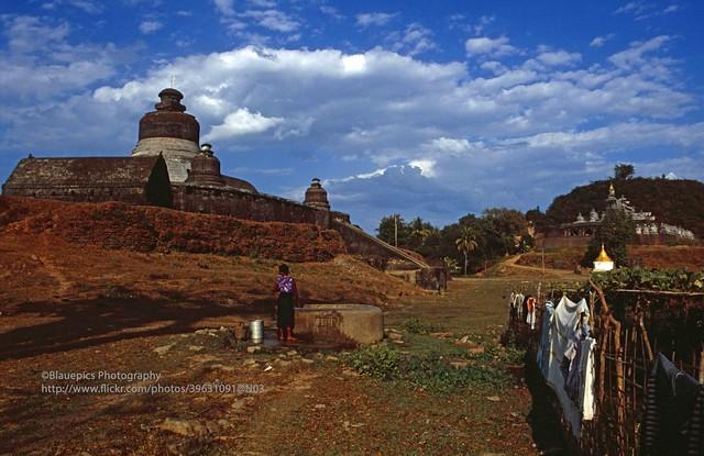 Mrauk U, Htukkant Thein temple and Shite-thaung temple
