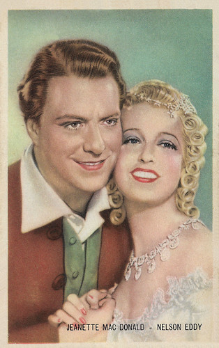 Jeanette MacDonald and Nelson Eddy in New Moon (1940)