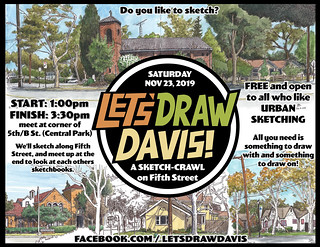Let's Draw Fifth Street, Davis!