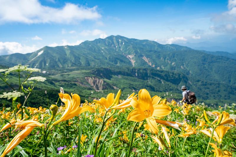 Mount Hakusan in Japan